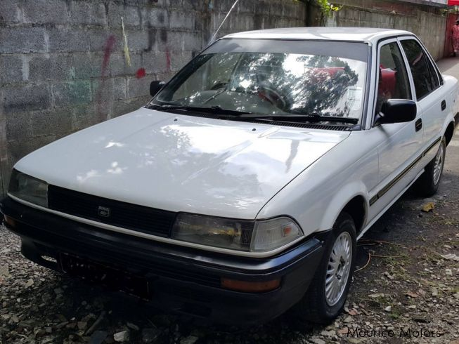 used toyota corolla ee90 1989 corolla ee90 for sale quatre bornes toyota corolla ee90 sales. Black Bedroom Furniture Sets. Home Design Ideas