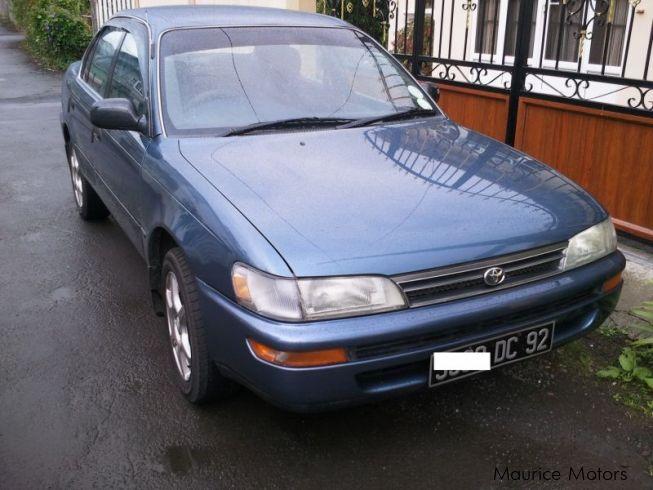 used toyota corolla ee100 gl 1992 corolla ee100 gl for sale cpe rh mauricemotors mu Geo Prizm Toyota Ee80