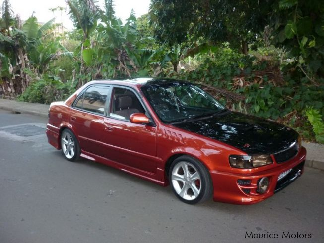 used toyota corolla glanza 2000 corolla glanza for sale quatre bornes toyota corolla glanza. Black Bedroom Furniture Sets. Home Design Ideas