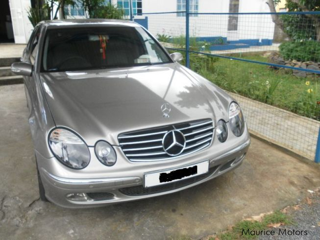 used mercedes benz class e cdi 270 2003 class e cdi 270 for sale beau bassin mercedes benz. Black Bedroom Furniture Sets. Home Design Ideas