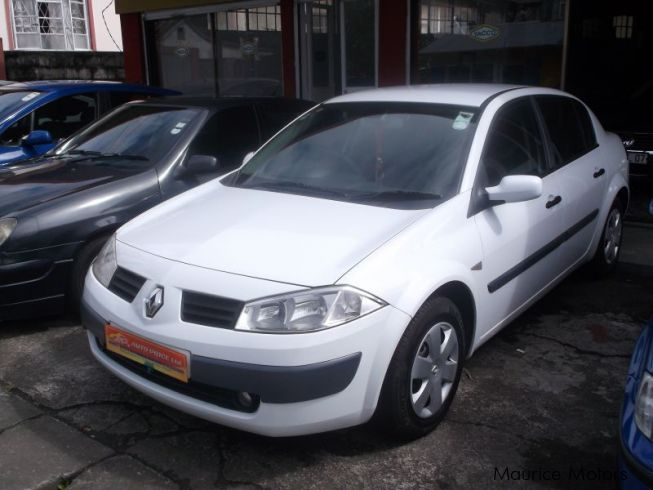2005 Megane - White For Sale