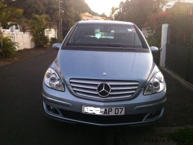 used mercedes benz b class 2007 b class for sale quatre bornes mercedes benz b class sales. Black Bedroom Furniture Sets. Home Design Ideas