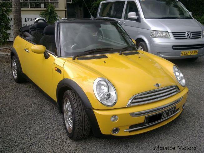 Used mini cooper 2007 cooper for sale vacoas mini for Cooper motors used cars