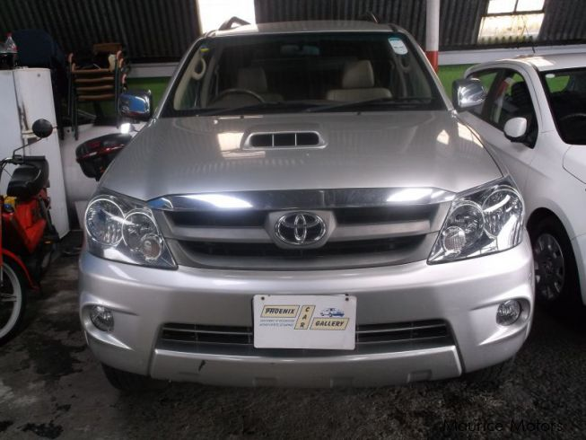 Used Toyota Fortuner Grey 2007 Fortuner Grey For