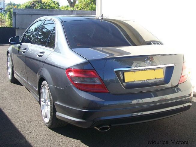 used mercedes benz c180 amg kompressor blue efficiency. Black Bedroom Furniture Sets. Home Design Ideas