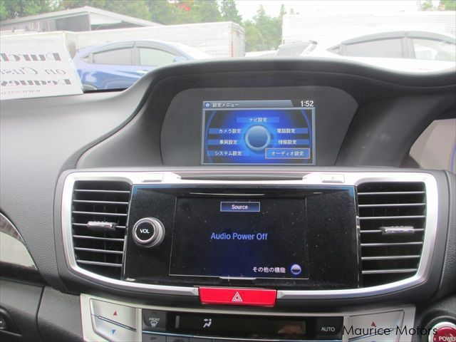 Honda Accord Hybrid Ex Leather Packagein Mauritius