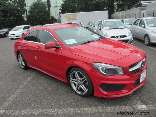 used mercedes benz cla 180 sport amg pack 2013 cla 180. Black Bedroom Furniture Sets. Home Design Ideas