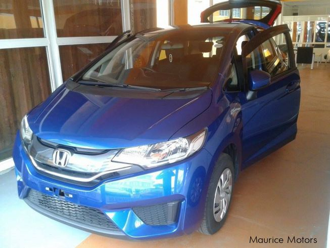 Honda FIT - F_PACKAGE - BLUE METALLICin Mauritius