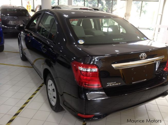 Toyota AXIO NEW SHAPE - BLACK in Mauritius
