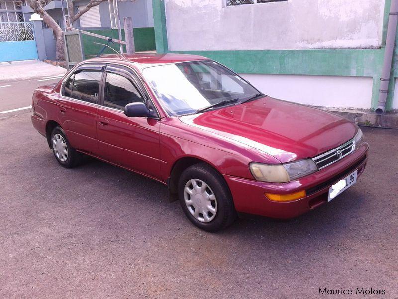 used toyota corolla ee100 gl 1995 corolla ee100 gl for sale rh mauricemotors mu 2014 Toyota Corolla Geo Prizm