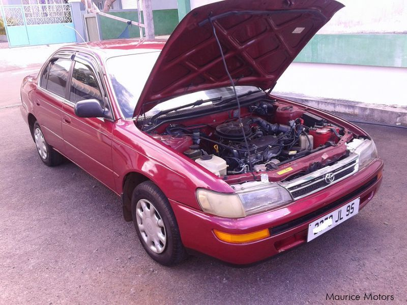used toyota corolla ee100 gl 1995 corolla ee100 gl for sale rh mauricemotors mu Geo Prizm toyota corolla e100 manual