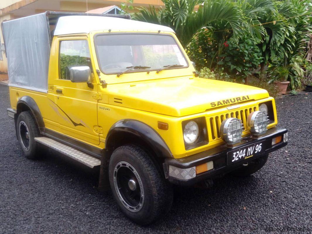 Suzuki Samurai in Mauritius ...