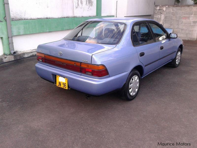 1996 toyota corolla ee100 car photos manual transmissions 185000 rh mauricemotors mu toyota corolla ee100 service manual Toyota Ee80