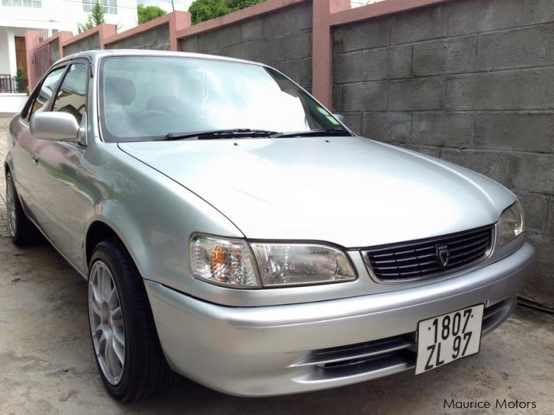 Used Toyota Corolla Ae110 Japan 1997 Corolla Ae110 Japan For Sale Beau Bassin Toyota Corolla
