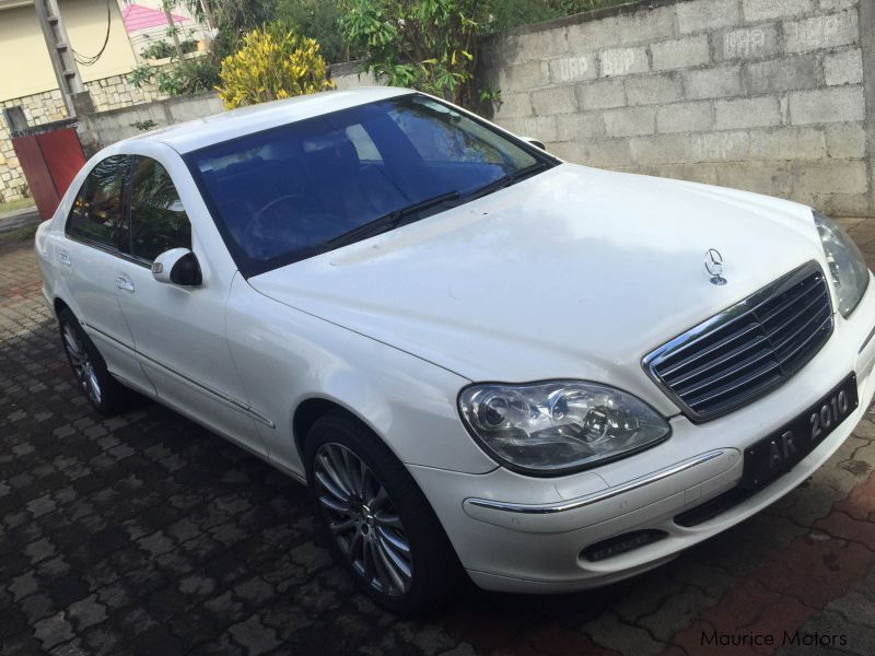used mercedes benz s class 500 facelift 2003 s class 500 facelift for sale quatre bornes. Black Bedroom Furniture Sets. Home Design Ideas