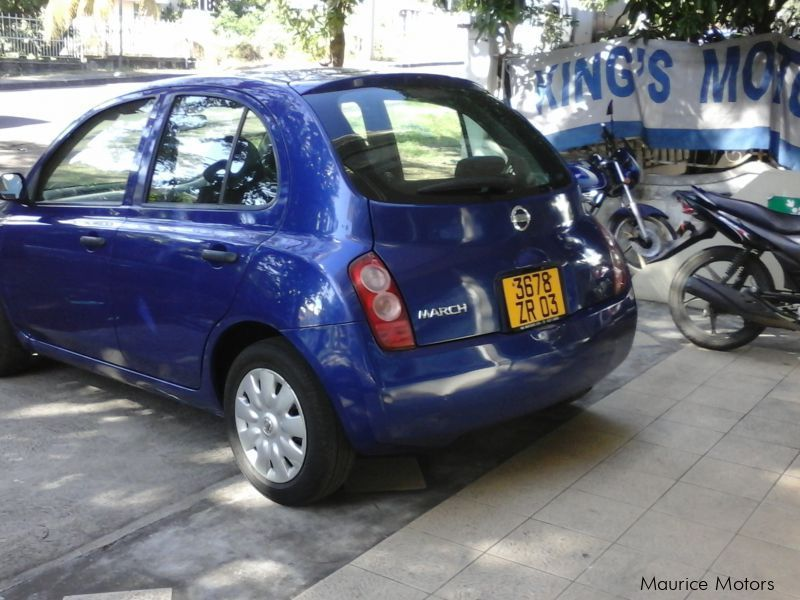 Used Nissan March AK12 | 2003 March AK12 for sale | Mauritius Nissan ...