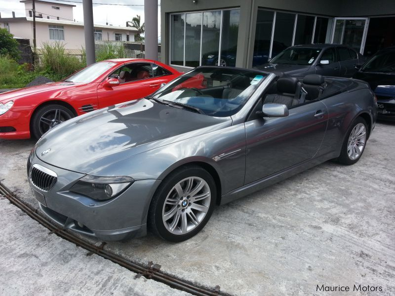 BMW 645i Convertible equipped with Eisenmann Exhaust in Mauritius