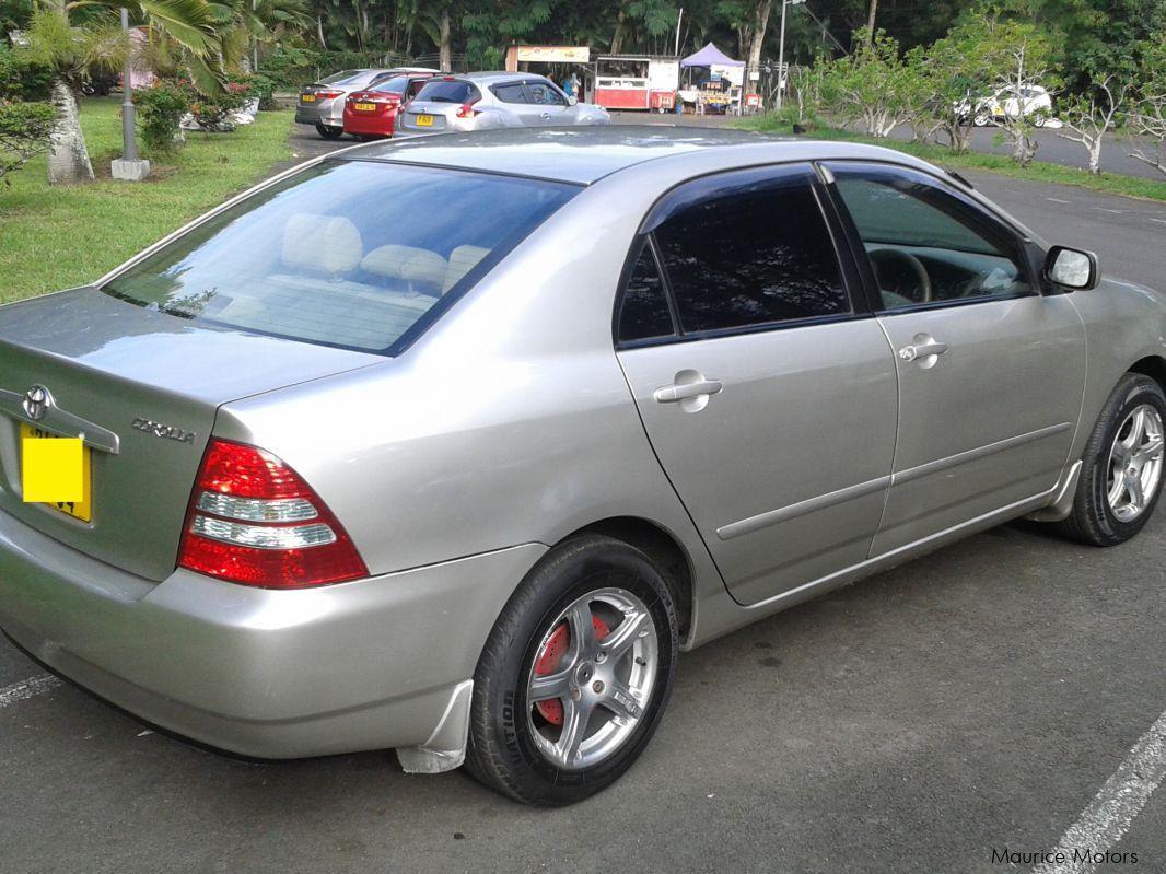 Used Toyota Corolla Nze Grade X 2004 Corolla Nze Grade X