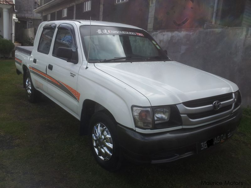 Used Toyota Hilux 2004 Hilux For Sale Mauritius Toyota