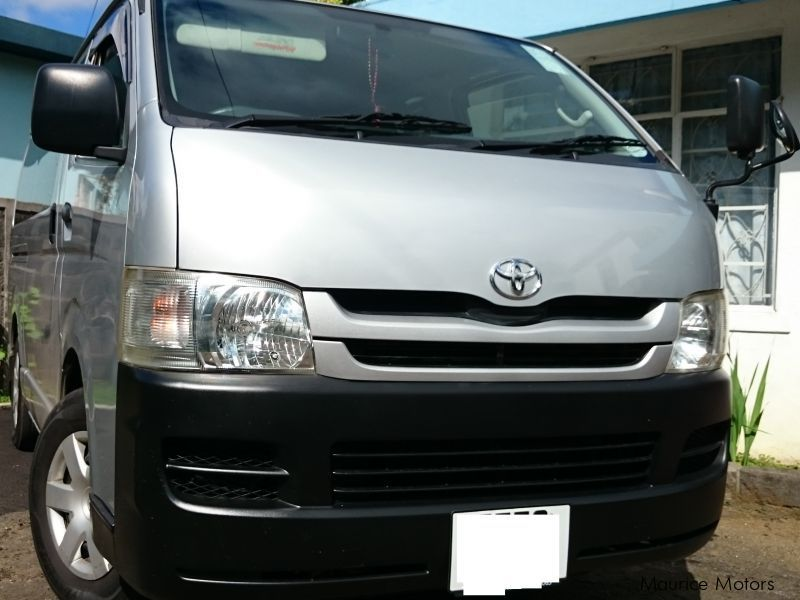 used toyota hiace 2008 hiace for sale quatre bornes toyota hiace sales toyota hiace price. Black Bedroom Furniture Sets. Home Design Ideas