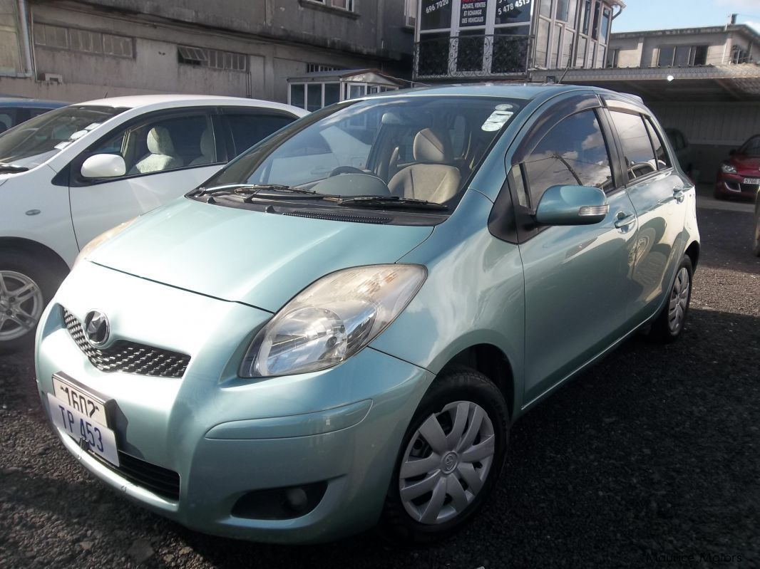 Used Toyota Vitz Light Green 2008 Vitz Light Green
