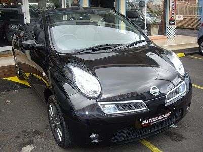 used nissan micra c cabriolet 2009 micra c cabriolet. Black Bedroom Furniture Sets. Home Design Ideas
