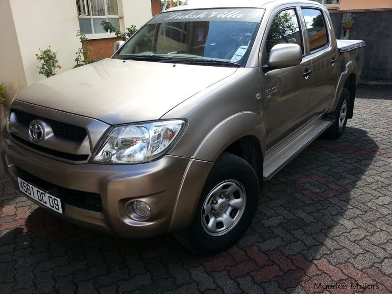 Used Toyota Hilux 2009 Hilux For Sale Mauritius Toyota