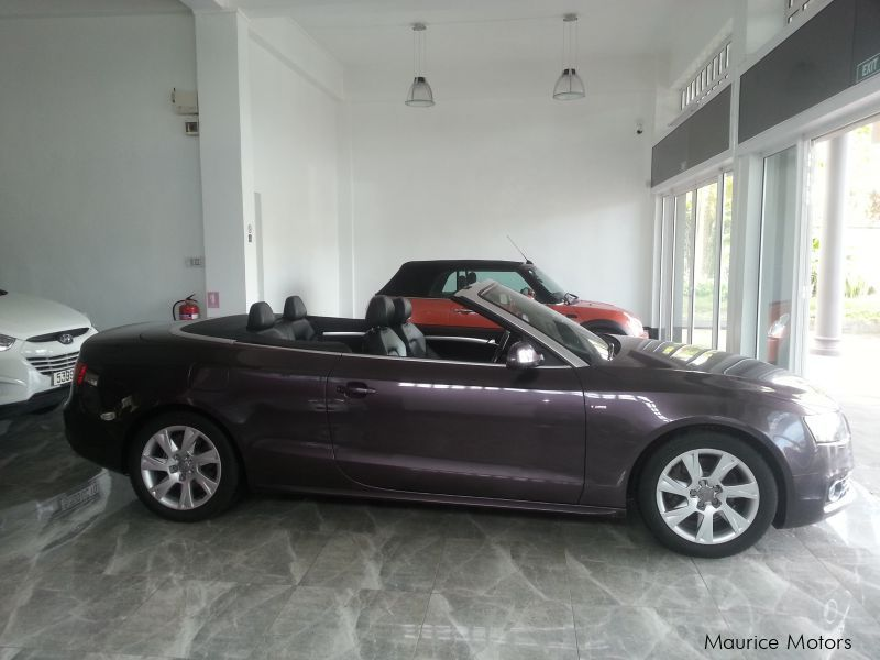 used audi a5 s line 2 0 tfsi convertible 2010 a5 s line. Black Bedroom Furniture Sets. Home Design Ideas