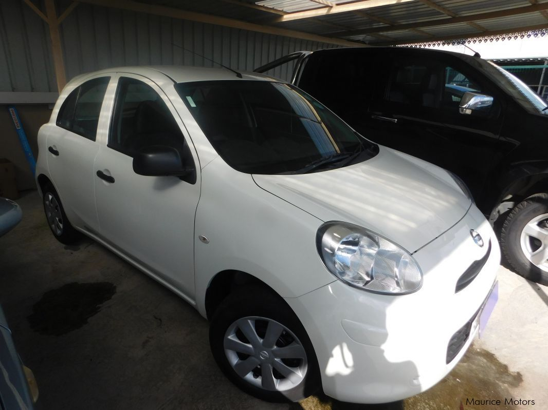 Used Nissan March Ak13 Pearl White 2011 March Ak13 Pearl White For Sale Camp Fouquereaux