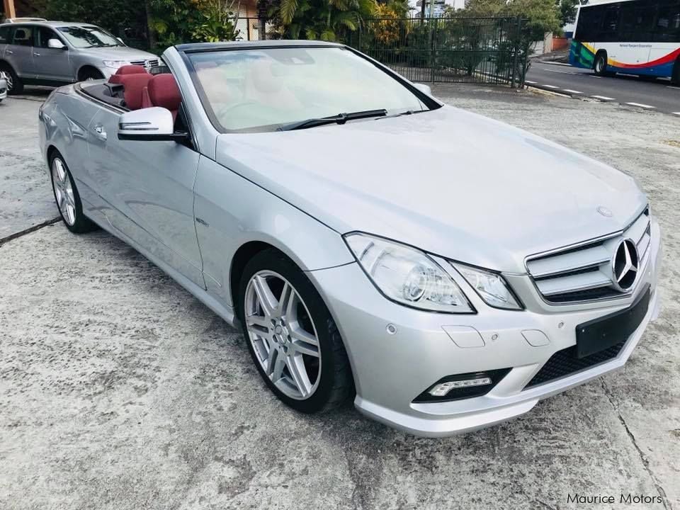 Used mercedes benz e250 amg convertible red amg sport for Used convertible mercedes benz for sale