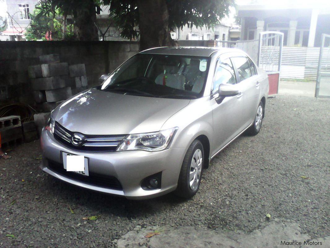 Toyota Axio G Grade in Mauritius ...