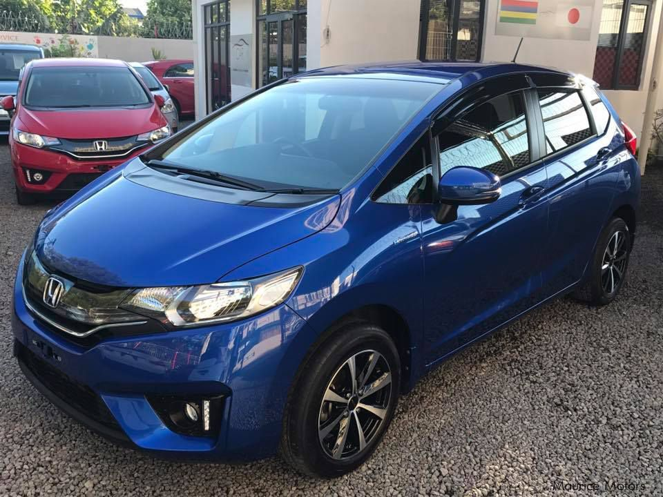 Honda Fit Hybrid New Shape In Mauritius ...