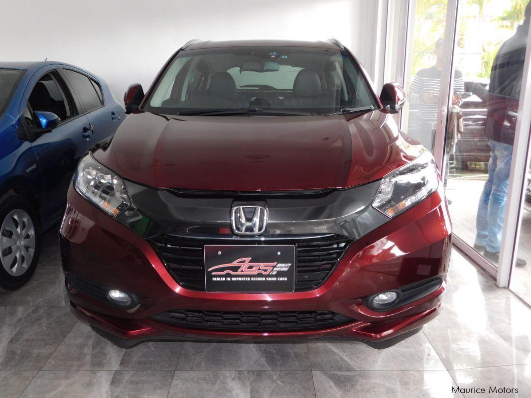 Honda VEZEL HYBRID   MODEL Z   RED WINEin Mauritius ...