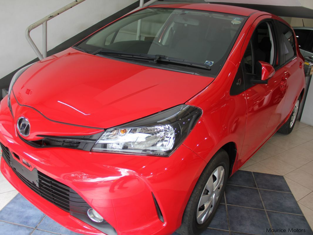 Pre-owned Toyota VITZ - RED for sale in