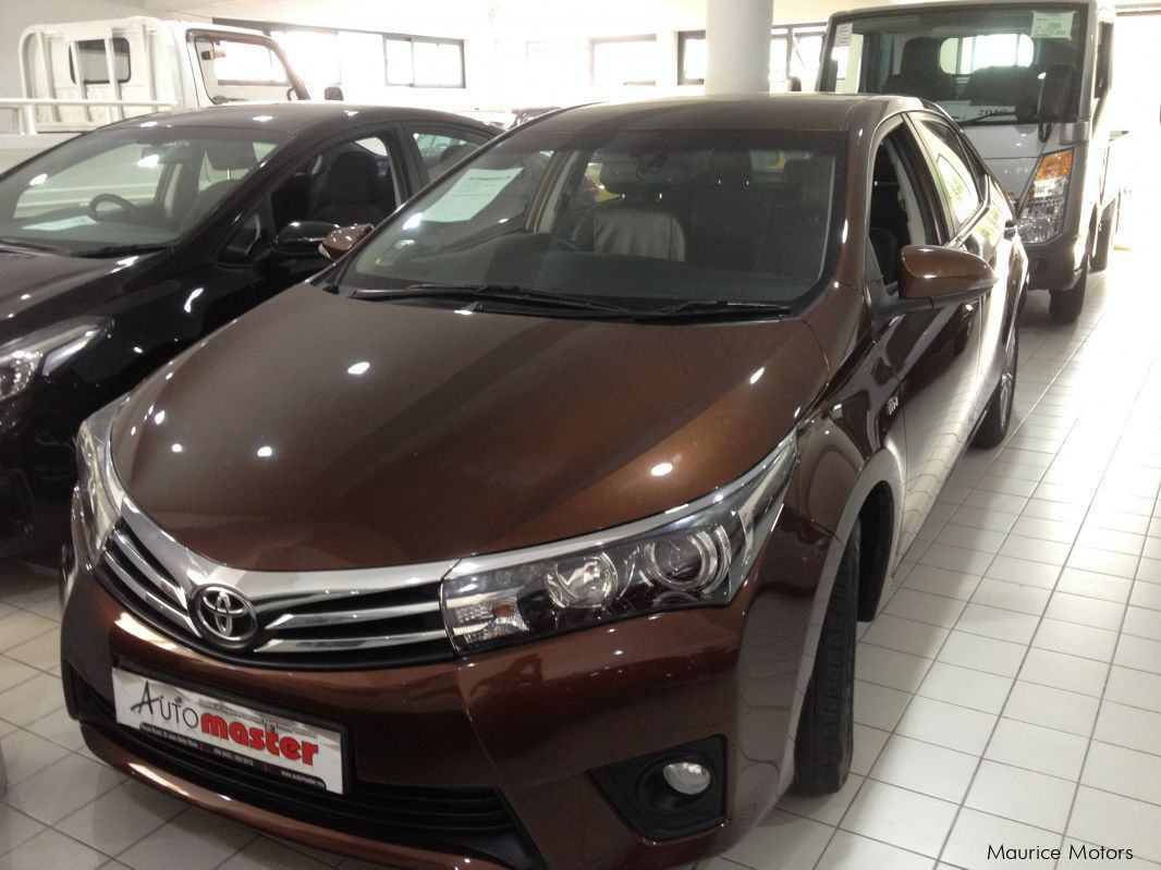 Pre-owned Toyota AXIO COROLLA - BROWN for sale in