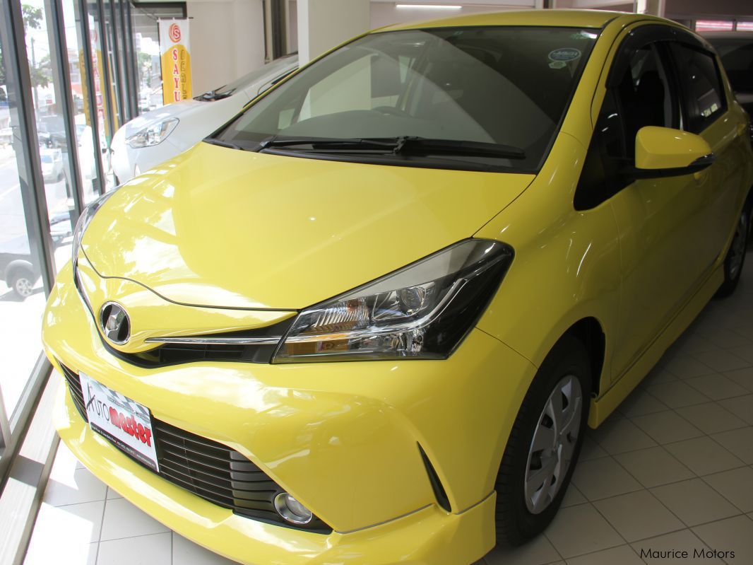 Pre-owned Toyota VITZ - YELLOW - KEYLESS for sale in