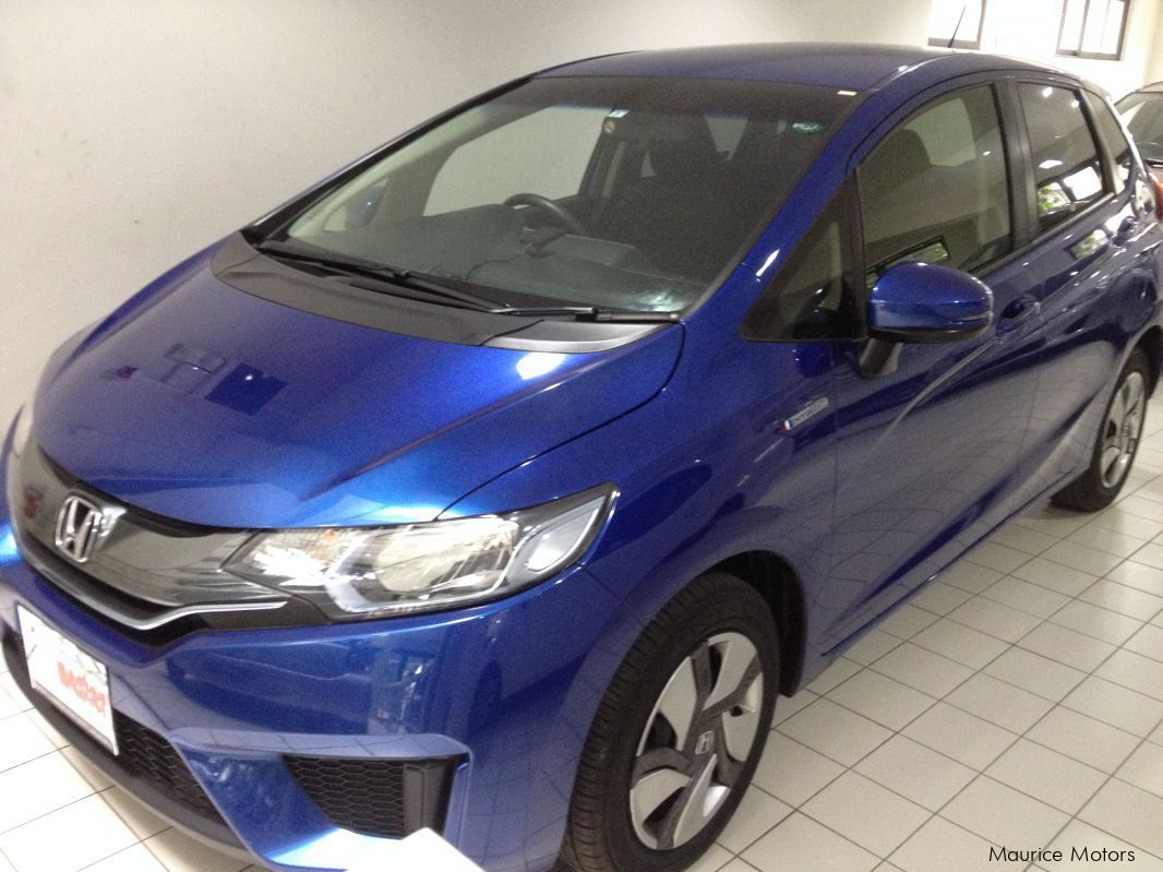 Pre-owned Honda FIT - HYBRID - BLUE for sale in