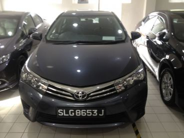 Pre-owned Toyota COROLLA ALTIS - GRAY - 1.6 CVT ELEGANCE for sale in