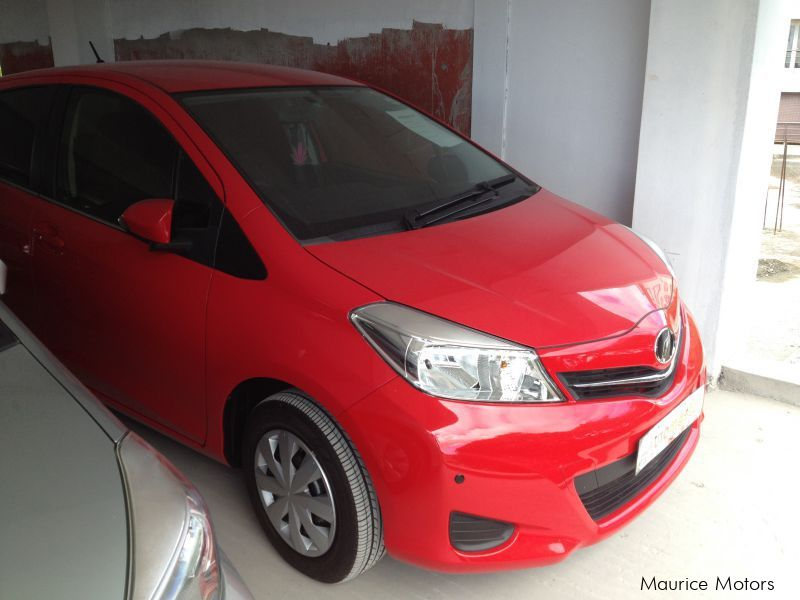 Used Toyota VITZ - JEWELA - RED in Mauritius