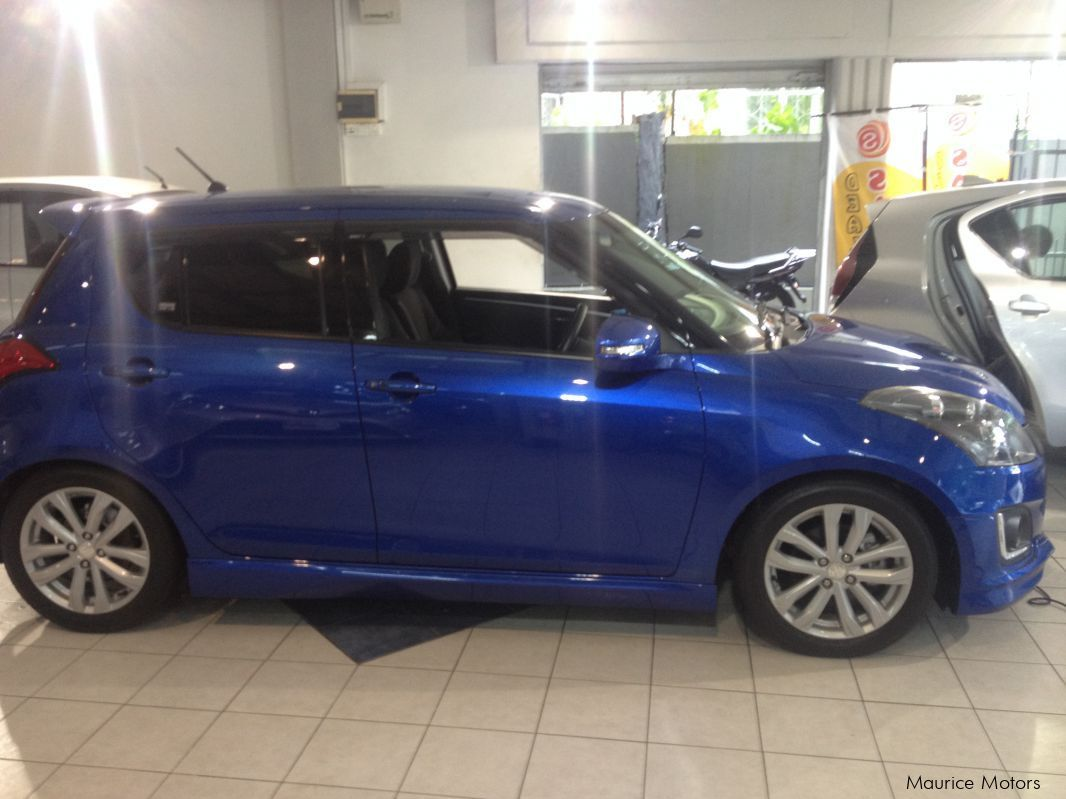 Pre-owned Suzuki SWIFT RS - MANUAL - BLUE METALIC for sale in