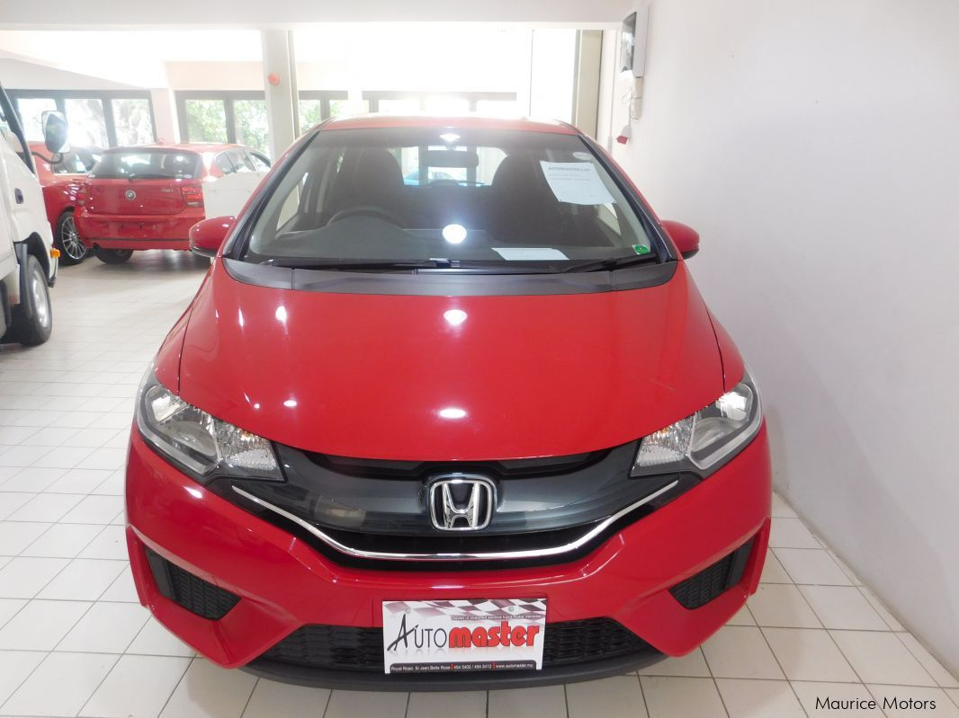 Used Honda FIT - RED in Mauritius