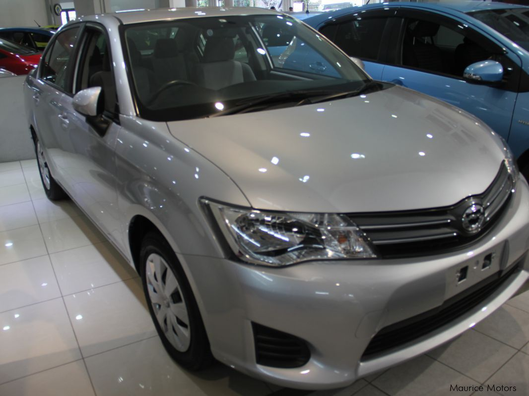 Pre-owned Toyota AXIO - SILVER for sale in