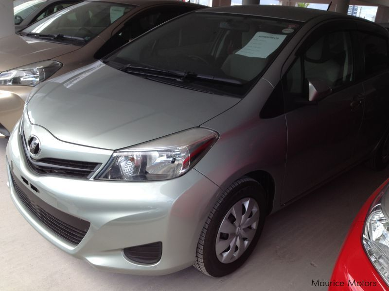 Used Toyota VITZ - LIGHT GREEN in Mauritius