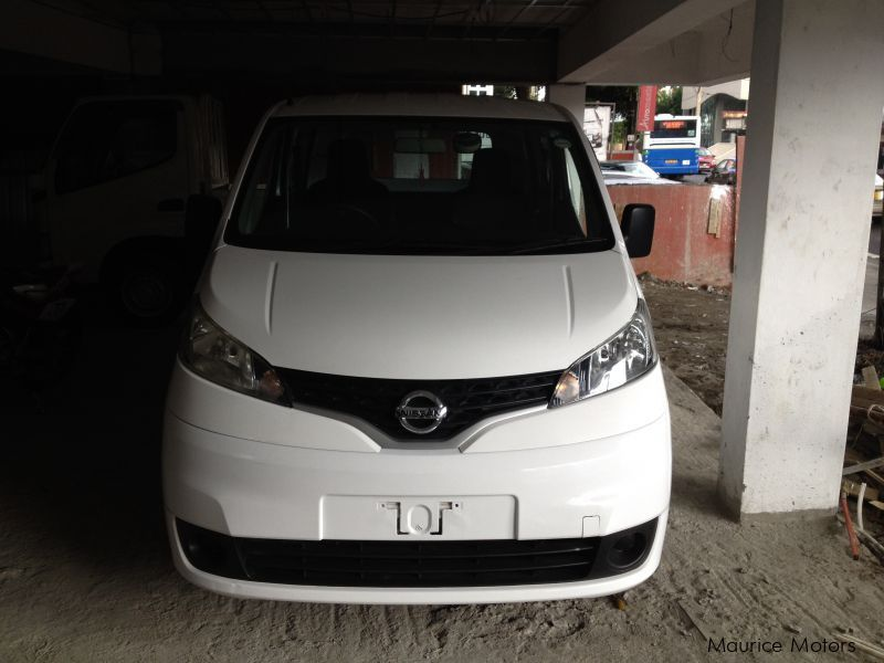 Used Nissan NV200 - WHITE in Mauritius