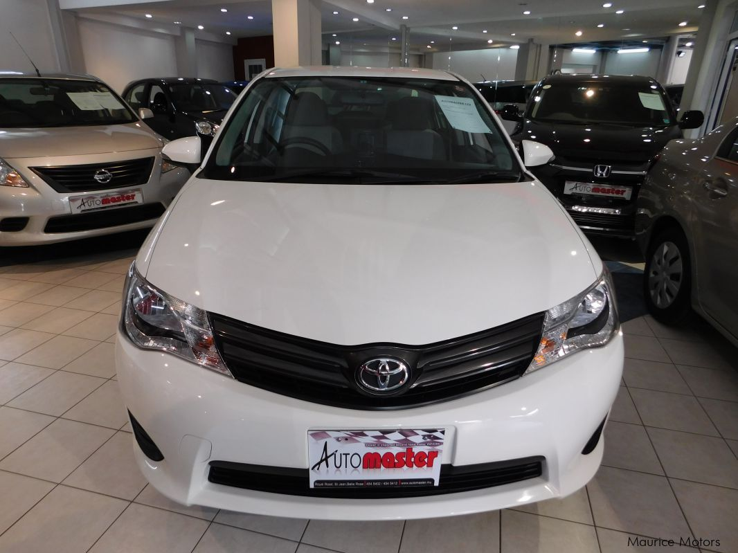 Pre-owned Toyota AXIO - WHITE for sale in