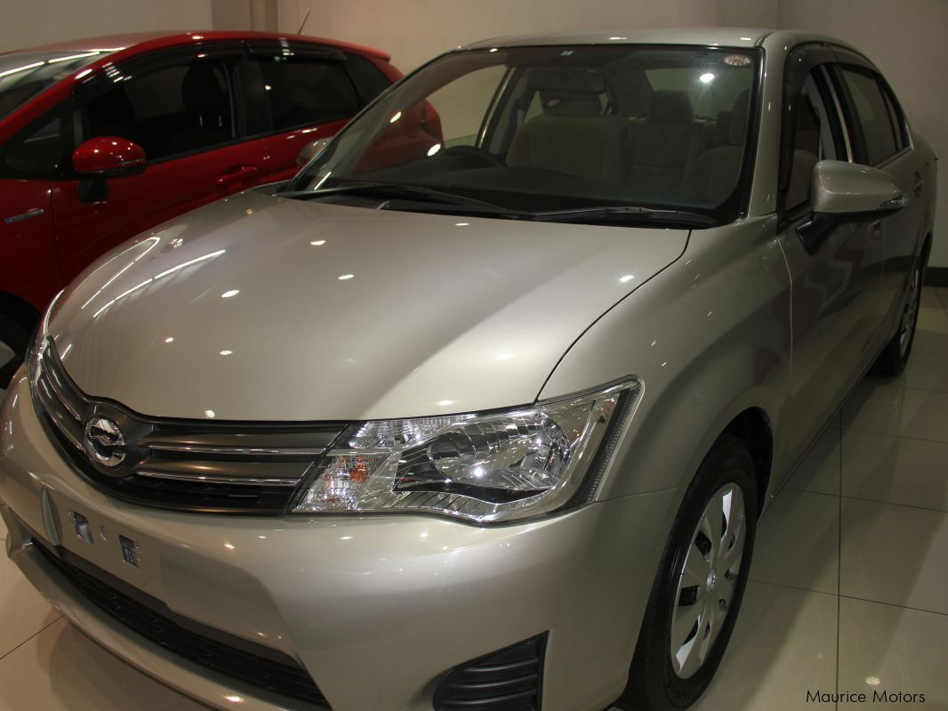 Pre-owned Toyota AXIO - BEIGE - MANUAL TRANSMISSION for sale in