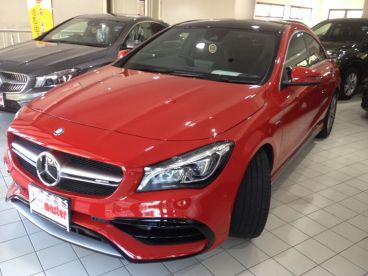 Pre-owned Mercedes-Benz CLA 45 - TURBO - SUNROOF - RED for sale in