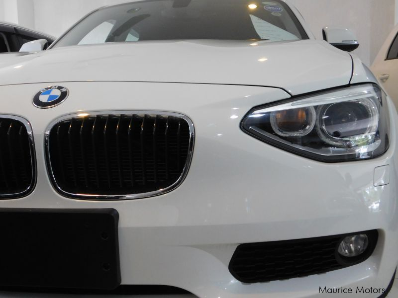 Used BMW 116i - PEARL WHITE - XENON LIGHTS in Mauritius