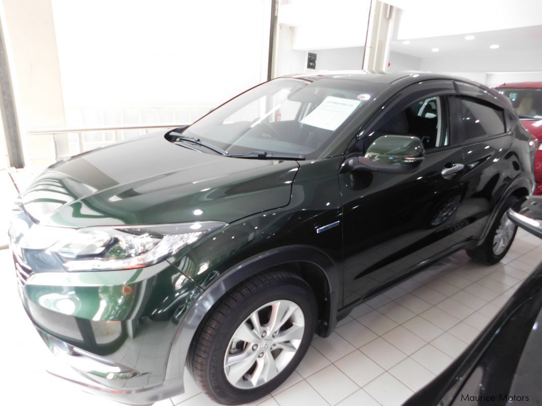 Used Honda VEZEL - GREEN in Mauritius