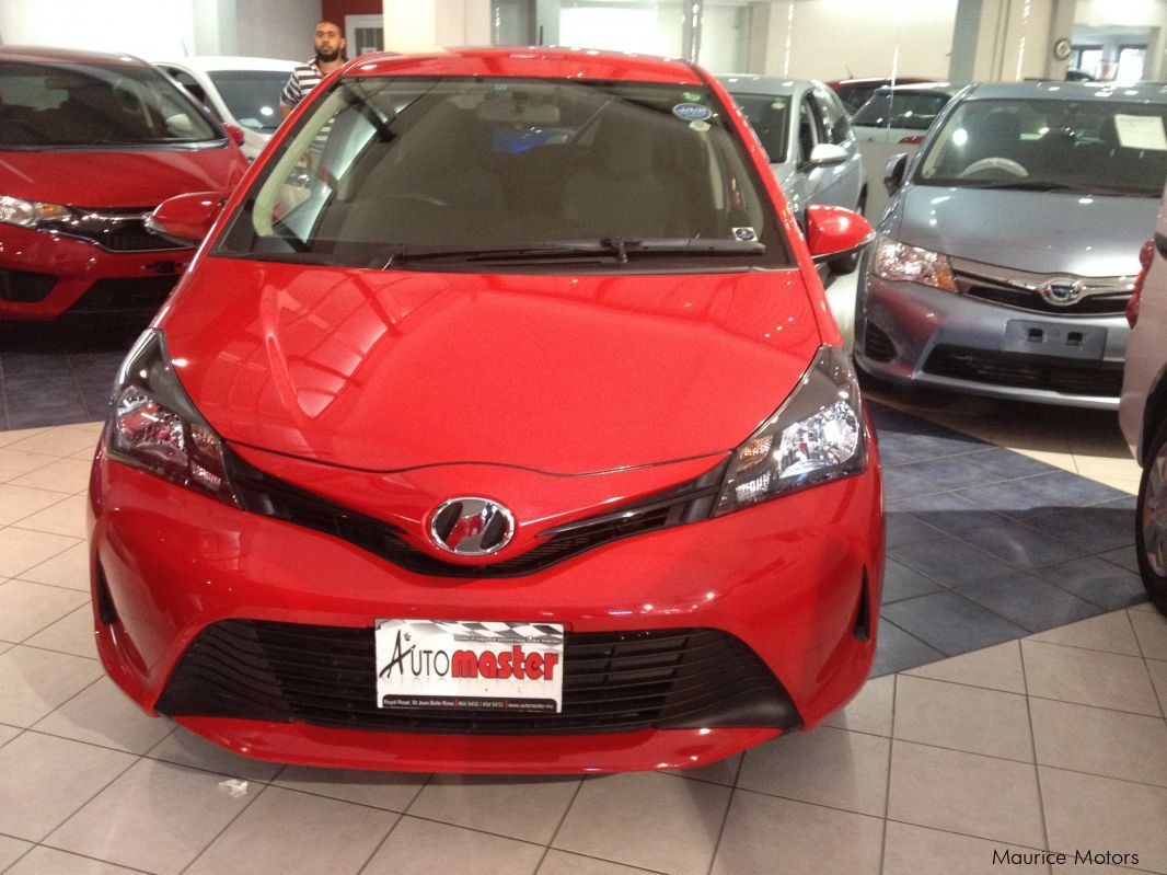 Pre-owned Toyota VITZ 1.3CC - RED for sale in